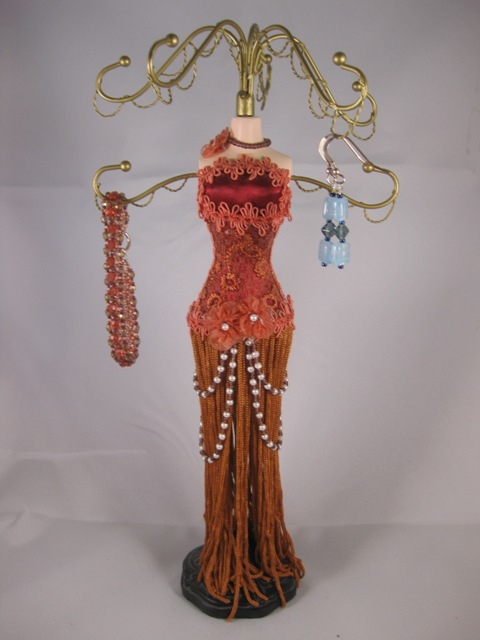 Red Tassel Jewelry Doll